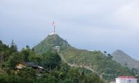 Flaggenturm Lung Cu in Nordvietnam