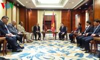 Staatspräsident Truong Tan Sang beendet Teilnahme am APEC-Gipfel
