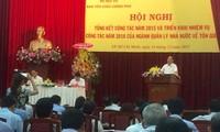 Vietnam konzentriert sich auf die Vervollständigung des Glaubens- und Religionsgesetzes im Jahr 2016