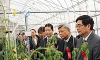 Einweihung des Zusammenarbeitszentrums über Smart-Landwirtschaft FPT – Fujitsu