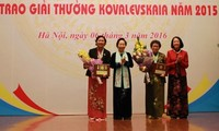 Verleihung des Kovalevskaja-Preises 2015