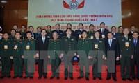 Freundschaftlicher Austausch über friedliche Grenzlinie zwischen Vietnam und China