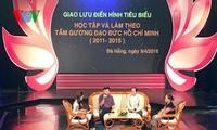 """Ehrung von herausragenden Menschen der Kampagne """"Lernen und Arbeiten nach dem Vorbild Ho Chi Minhs"""