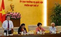 Sitzung des Ständigen Parlamentsausschusses geht zu Ende