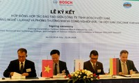 Bosch investiert mehr als eine Million US-Dollar in der Berufsausbildung in Vietnam