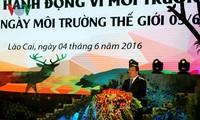 "Vize-Premierminister Trinh Dinh Dung nimmt am Start des ""Aktionsmonats für Umwelt"" teil"