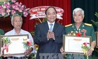 Auszeichnung der Menschen mit Verdiensten im Jahr 2016