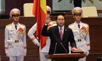 Staatspräsident Tran Dai Quang vereidigt