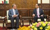 Staatspräsident Tran Dai Quang empfängt Professor der Harvard-Universität