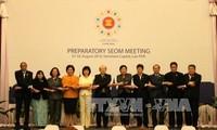 Hochrangige Wirtschaftsbeamte der ASEAN diskutieren acht Prioritäten der ASEAN-Wirtschaftssäulen