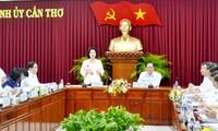 Parlamentspräsidentin: Die Entwicklung der Stadt Can Tho soll eng mit Umweltschutz verbunden