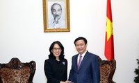 Vizepremierminister Vuong Dinh Hue trifft Leiter von Central Group aus Thailand