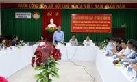 Vorsitzender der Vaterländischen Front trifft Vertreter der Volksgruppe Cham in Ninh Thuan