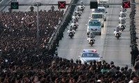 Thailand betet für König Bhumibol Adulyadej
