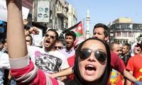 Protest in Jordanien gegen Friedensvereinbarung mit Israel