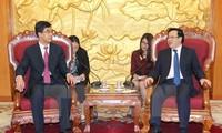 Leiter des Außenkomitees der KPV empfängt Delegation des chinesischen Jugendverbands