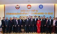 Konferenz der Vorsitzenden der Vaterländischen Front Kambodschas, Laos und Vietnams