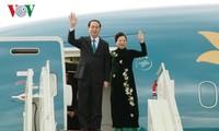 Staatspräsident Tran Dai Quang beendet den offiziellen Besuch in Russland