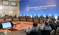 Eröffnung der 7. Runde der Syrien-Friedensverhandlungen in Genf