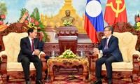Glückwünsch zum Vietnam-Laos-Freundschaftsjahr
