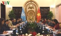 Vorsitzender der UNESCO-Kommission Vietnams führt Gespräch mit der UNESCO-Generaldirektorin