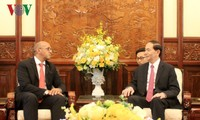 Staatspräsident Tran Dai Quang empfängt kubanischer Botschafter