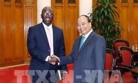 Premierminister Nguyen Xuan Phuc empfängt Direktor der Weltbank in Vietnam