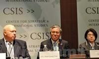 Seminar über die Struktur der Asien-Region