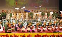 Mít tinh trọng thể kỷ niệm 40 năm chiến thắng Hà nội- Điện biên phủ trên không