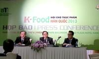 Hội chợ thực phẩm Hàn Quốc năm 2013