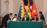 Việt Nam và Bolivia thắt chặt quan hệ hợp tác toàn diện