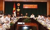 Phó Thủ tướng Hoàng Trung Hải làm việc tại Hải Dương