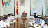 Thủ tướng  làm việc với lãnh đạo chủ chốt tỉnh Sóc Trăng
