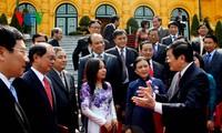 Chủ tịch nước Trương Tấn Sang trao quyết định bổ nhiệm đại sứ, Tổng lãnh sự