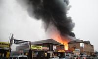 """Cháy """"chợ Việt Nam"""" tại Kazan để lại hậu quả nặng nề"""