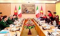 Lần đầu tiên đối thoại chính sách quốc phòng Việt Nam- Italy