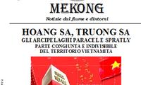 Hội Hữu nghị Italy-Việt Nam ra ấn phẩm đặc biệt về Hoàng Sa-Trường Sa