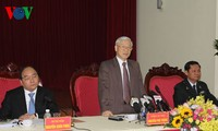 Tổng Bí thư Nguyễn Phú Trọng làm việc với Thanh tra Chính phủ