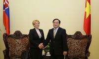 Việt Nam và Slovakia tăng cường trao đổi kinh nghiệm lập pháp, giám sát