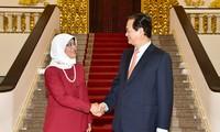 Việt Nam và Singapore thúc đẩy hợp tác song phương và đa phương