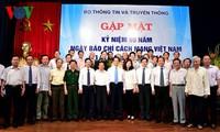 Báo chí Việt Nam ngày càng lớn mạnh và góp sức vào sự phát triển đất nước
