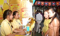 Gần 100 doanh nghiệp tham gia Hội chợ thương mại Việt Nam – Lào 2015