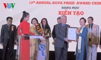 Trao giải thưởng KOVA lần thứ 13