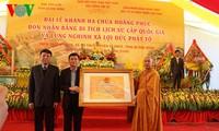 Lễ khánh hạ chùa Hoằng Phúc tại Quảng Bình