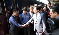 Bí Thư Thành ủy Hà Nội Hoàng Trung Hải kiểm tra công tác đảm bảo an toàn giao thông