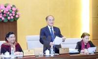 Bế mạc phiên họp thứ 46 Ủy ban Thường vụ Quốc hội