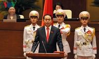 Đại tướng Trần Đại Quang được bầu làm Chủ tịch nước