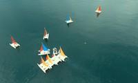 Những hình ảnh đẹp tại giải đua thuyền buồm Phú Quốc
