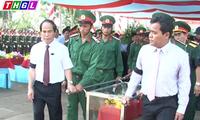 Gia Lai truy điệu và an táng hài cốt liệt sĩ quân tình nguyện Việt Nam hi sinh tại Campuchia