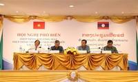 Hiệp định thương mại Việt - Lào tạo điều kiện thuận lợi cho doanh nghiệp hai nước